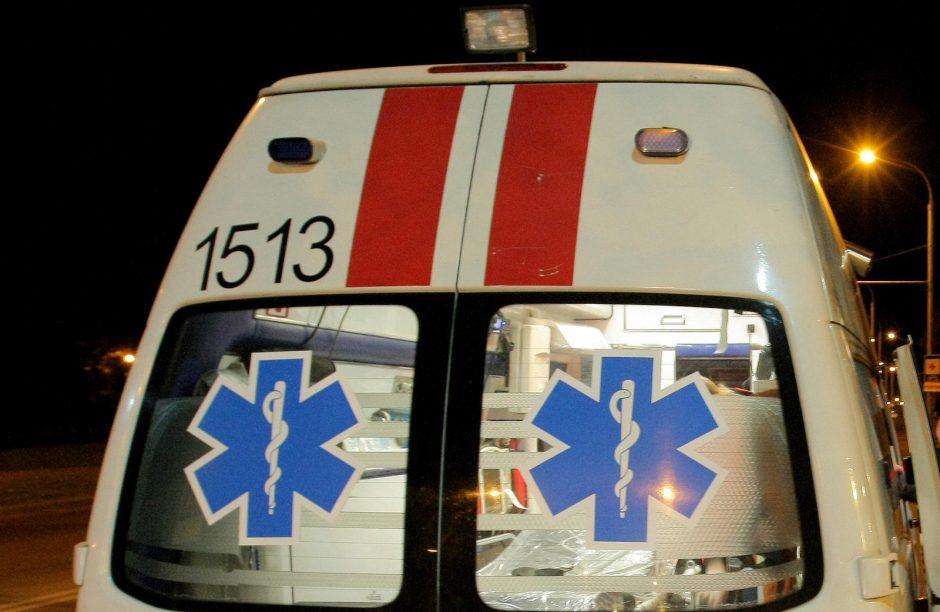 Per avariją Kretingos rajone sužeisti du žmonės