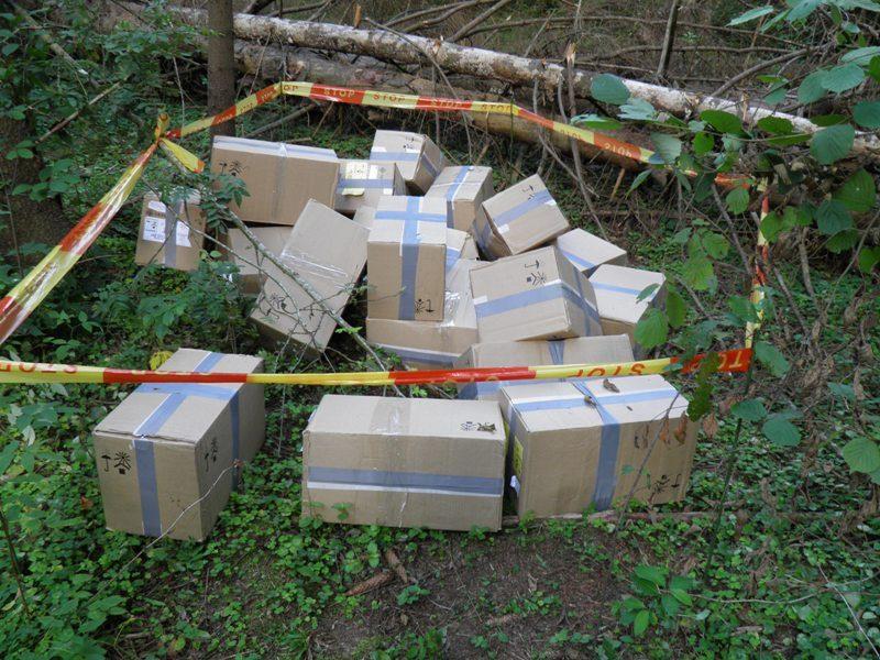 Šalčininkų r. pasieniečiai sulaikė 80 tūkst. litų vertės cigarečių krovinį