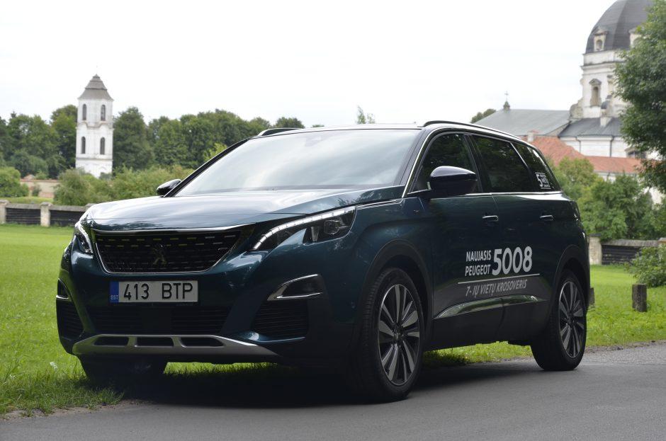 """""""Peugeot 5008"""": didesnysis brolis atvyko"""