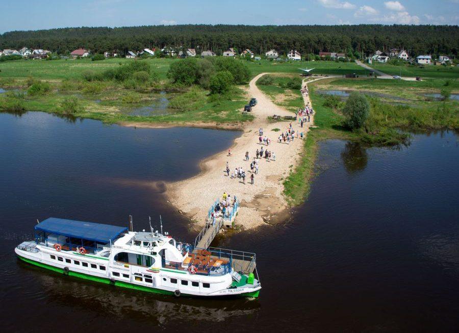 Plaukti iš Kauno į Kulautuvą laivu bus galima ir rugsėjį