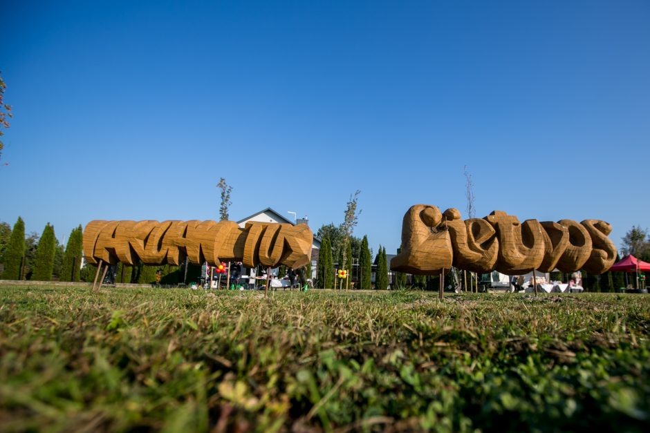 Šventė Garliavos Šimtmečio parke