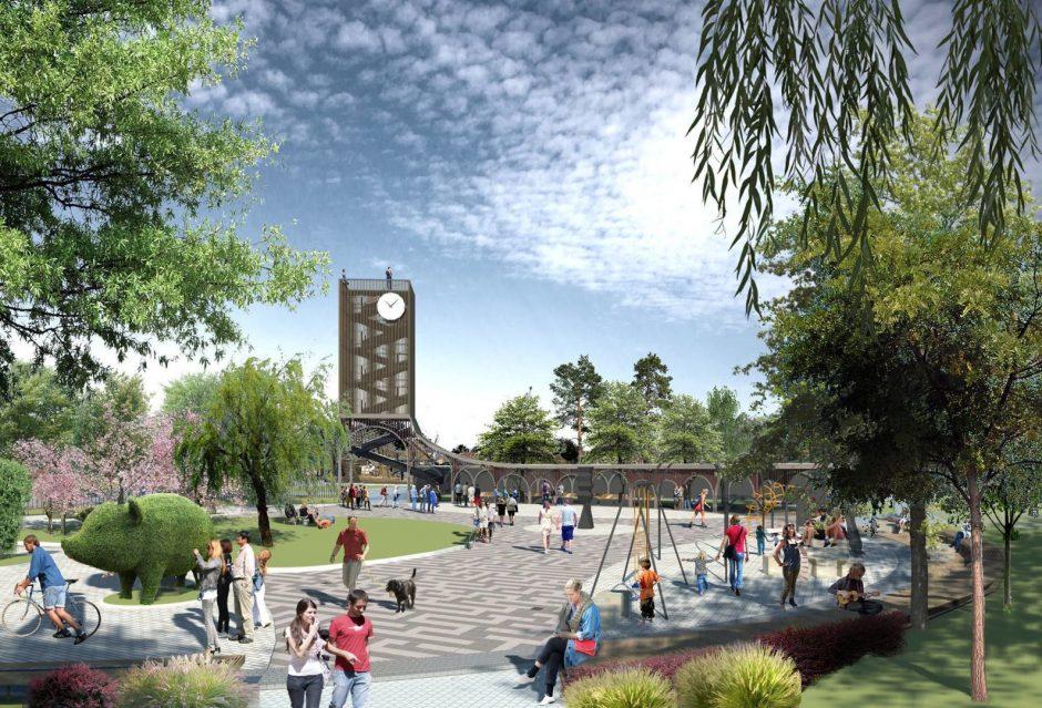 Vilniuje iškils apžvalgos bokštas ir pramonės parkas