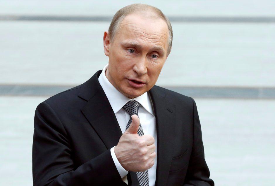 V. Putinas gruodžio 11-ąją lankysis Egipte