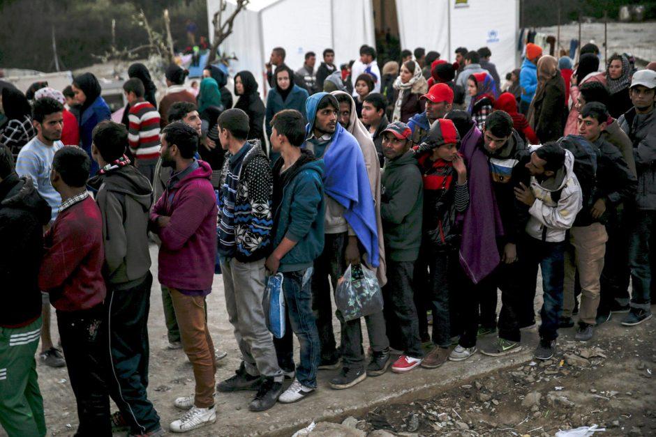 Seime bus diskutuojama apie pabėgėlių priėmimą