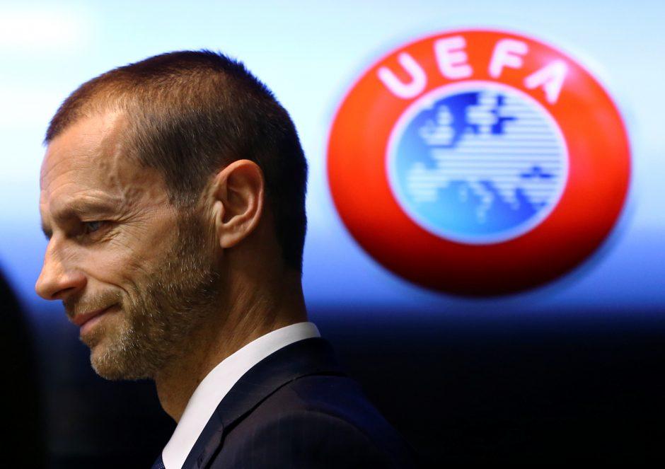Į Lietuvą atvyksta UEFA prezidentas A. Čeferinas