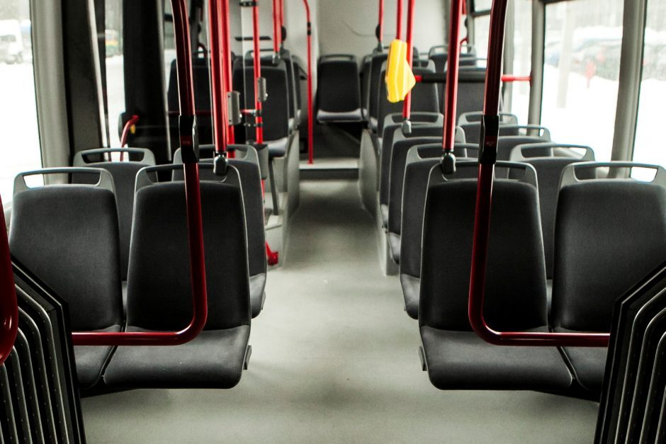 Per avariją Vytauto prospekte nukentėjo autobuso keleivė