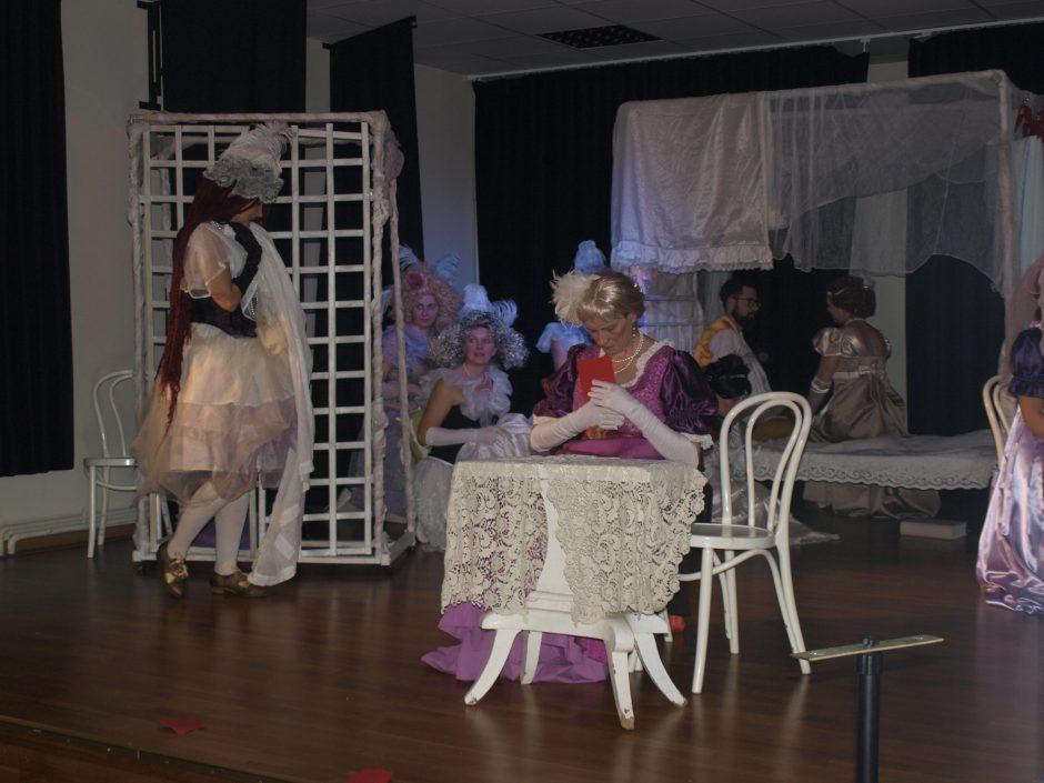 """""""Naujuosiuose Vasiukuose"""" – teatro mylėtojai iš Gruzijos"""