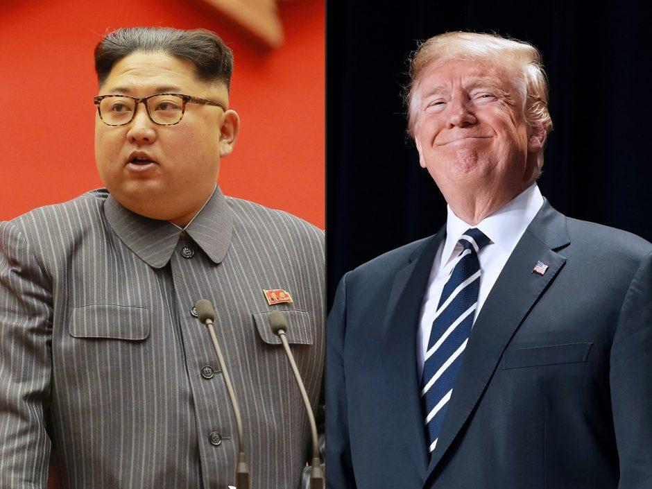 D. Trumpas: Šiaurės Korėja nori taikytis