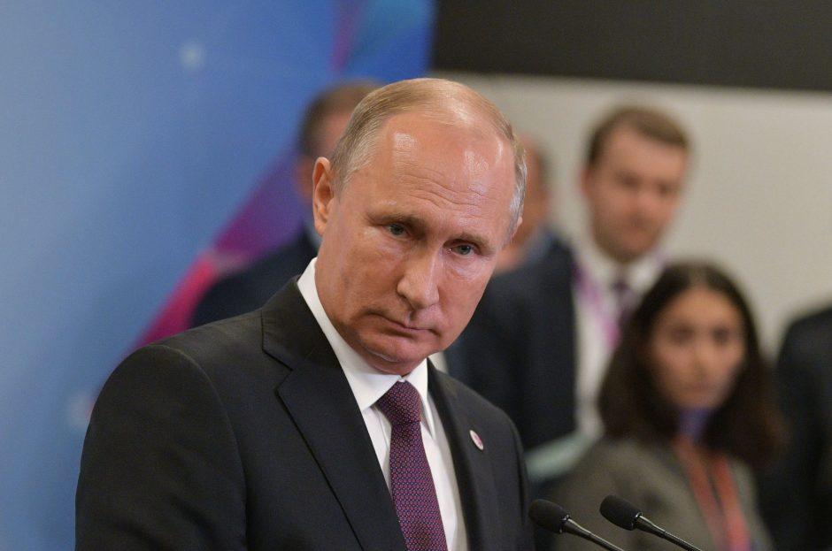 V. Putinas: rinkimai Donbase buvo neišvengiami