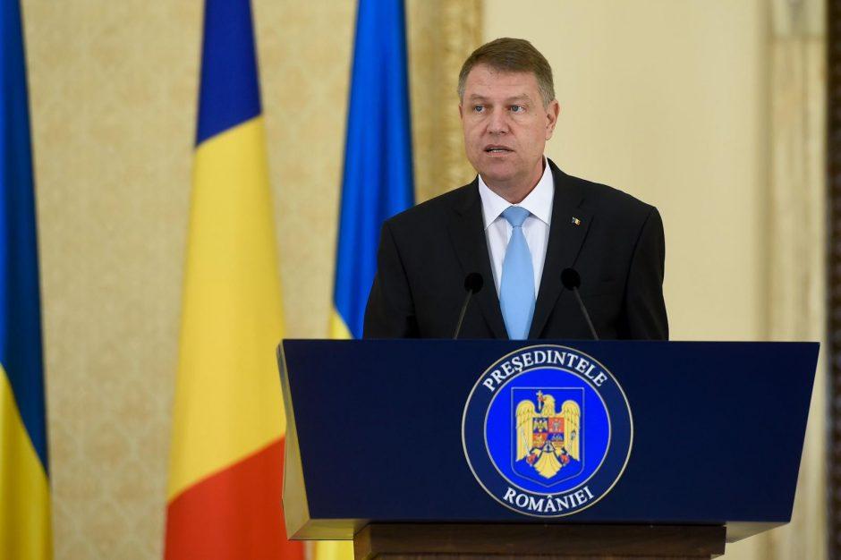 Rumunijos prezidentas nesutinka atleisti antikorupcijos prokurorės