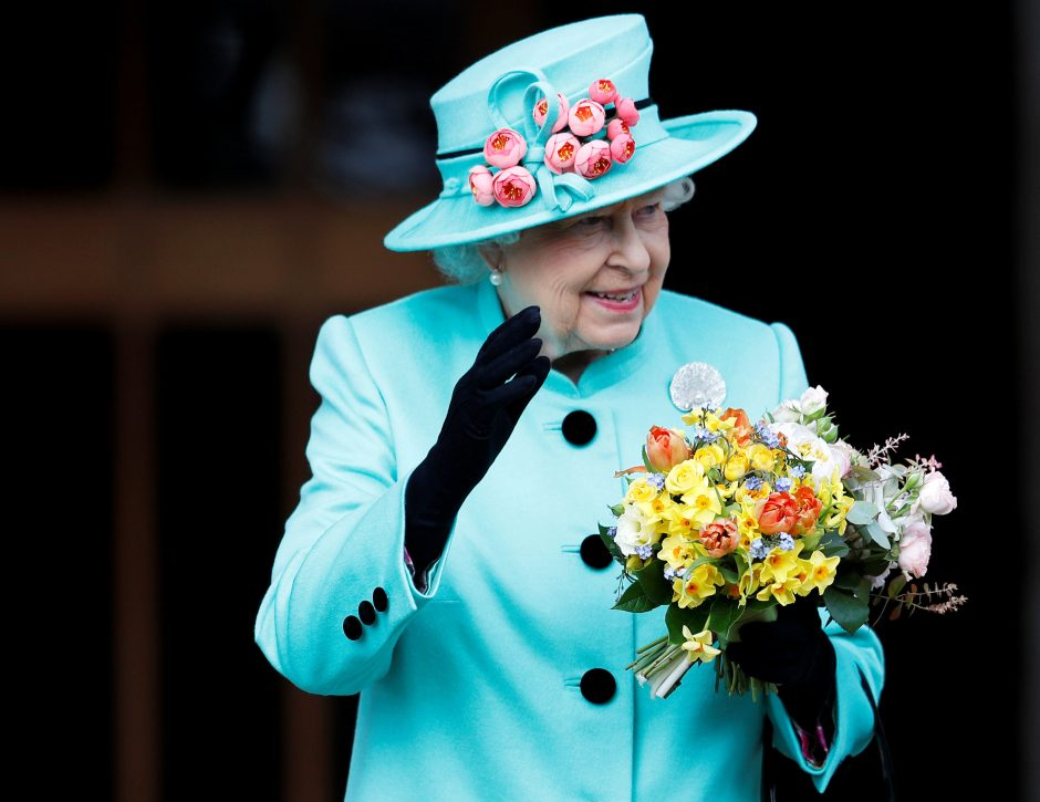 Britų karališkoji šeima dalyvavo Velykų pamaldose