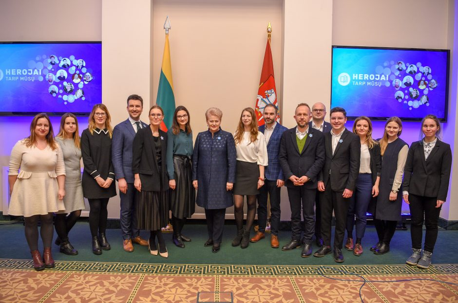 Prezidentūroje apdovanoti šalies mokytojai