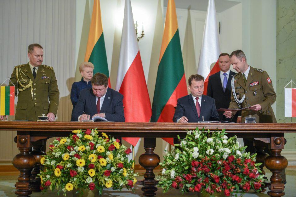 Lietuvos, Lenkijos ir Ukrainos prezidentai deklaravo siekį gintis nuo Rusijos
