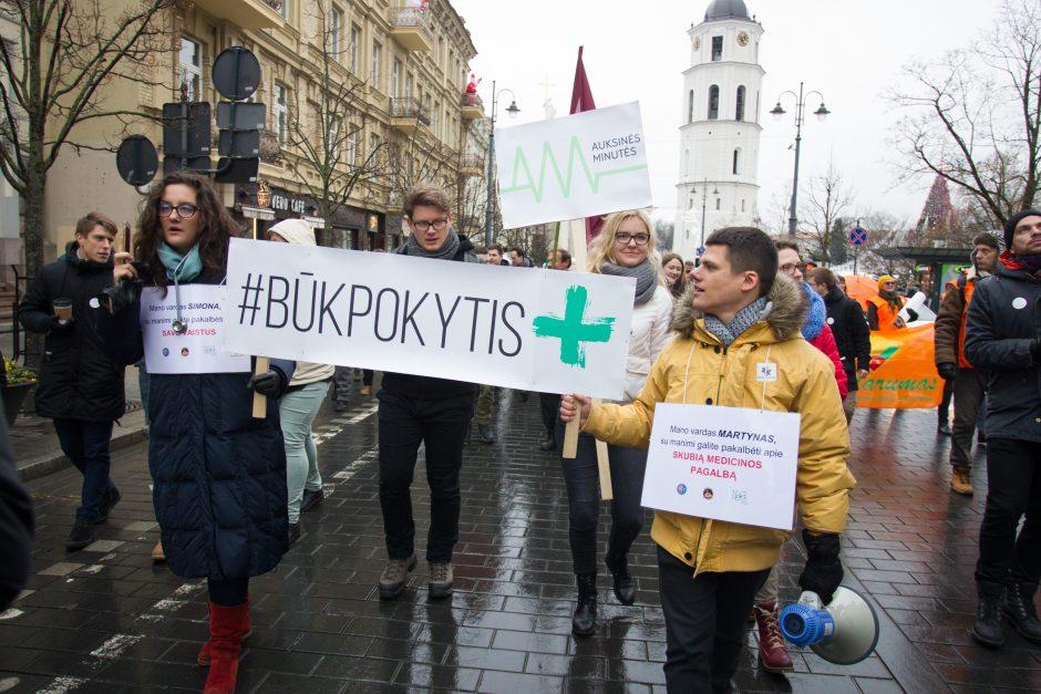 Telkiasi įvairių sričių darbuotojai: Lietuvai – mažakraujystė