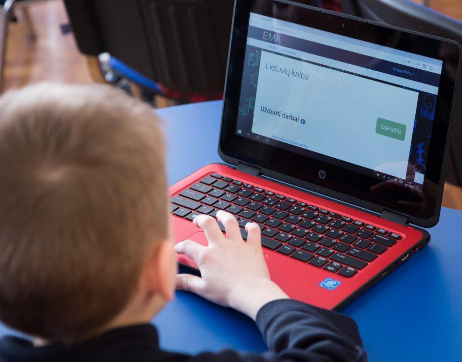 Vaikų tobulėjimui – nauji kompiuteriai