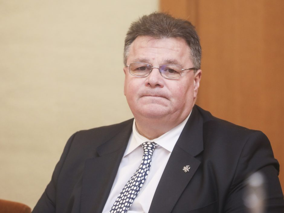 L. Linkevičius: Lietuvos pozicija dėl Astravo AE nesikeičia