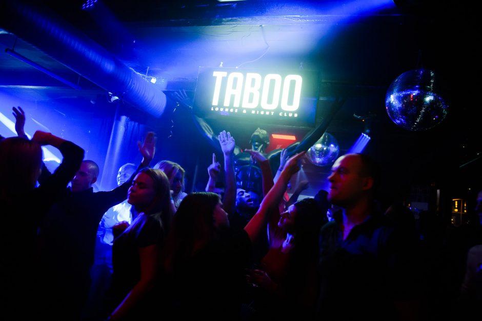 """""""Taboo"""" klube – """"Revoliucija"""""""