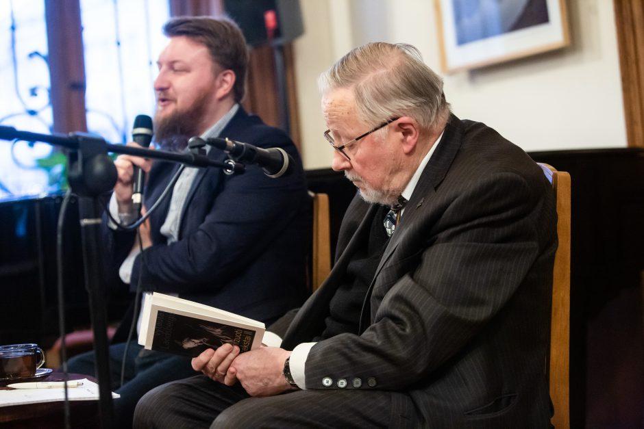 """V. Landsbergio knygos """"Organizuoti tekstai - II"""" pristatymas"""