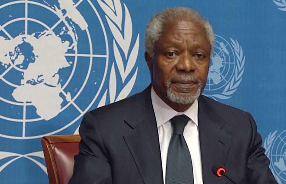 Pasaulio vyresnieji nepritaria kariniams veiksmams prieš Siriją