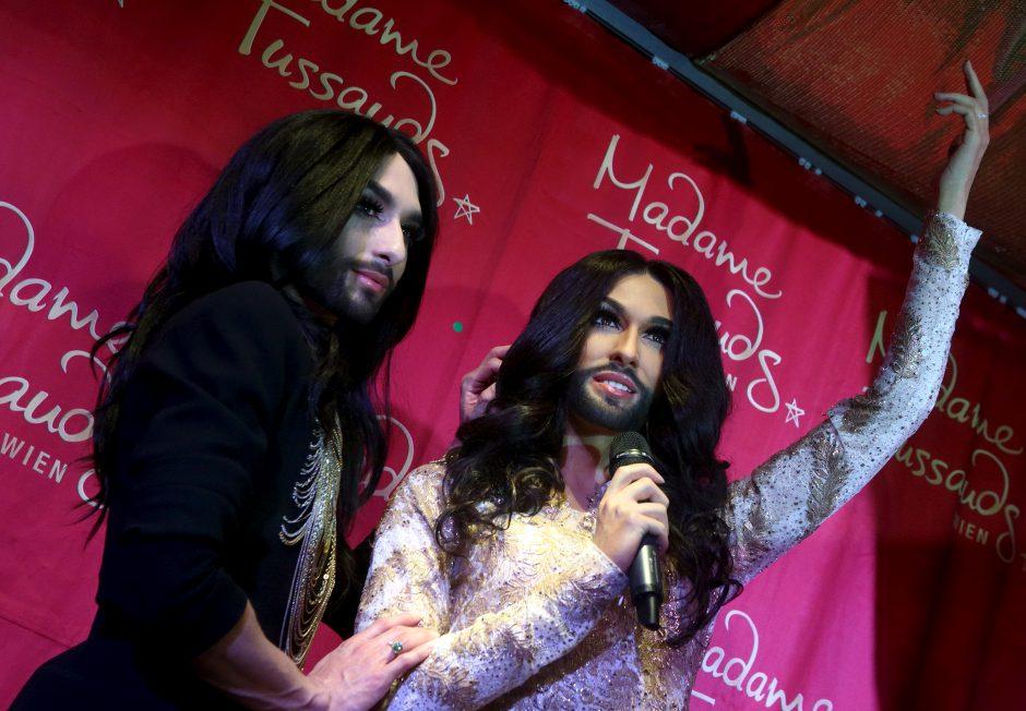 """Conchita Monikai ir Vaidui: mėgaukitės tuo, kad dalyvaujate """"Eurovizijoje"""""""