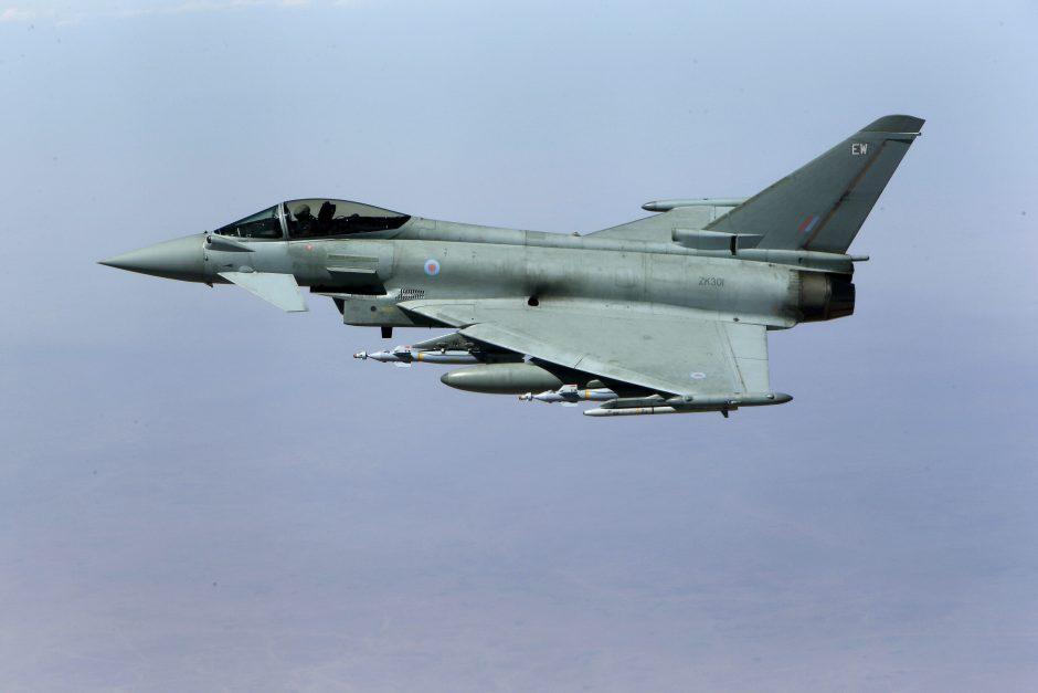 Į NATO misiją Estijoje atvyko Italijos naikintuvai