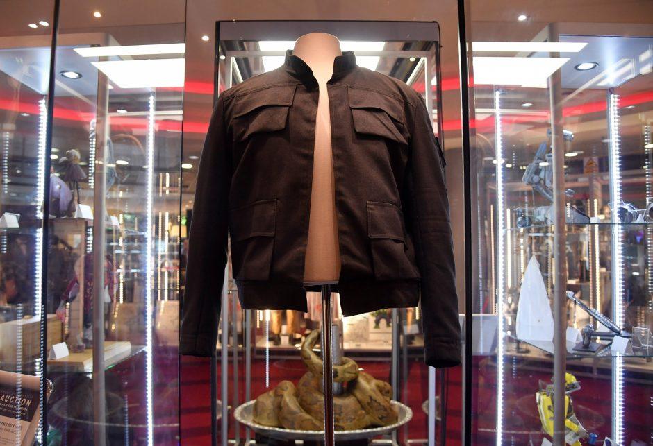 Londono aukcionas: už H. Solo švarką – milijonas svarų?