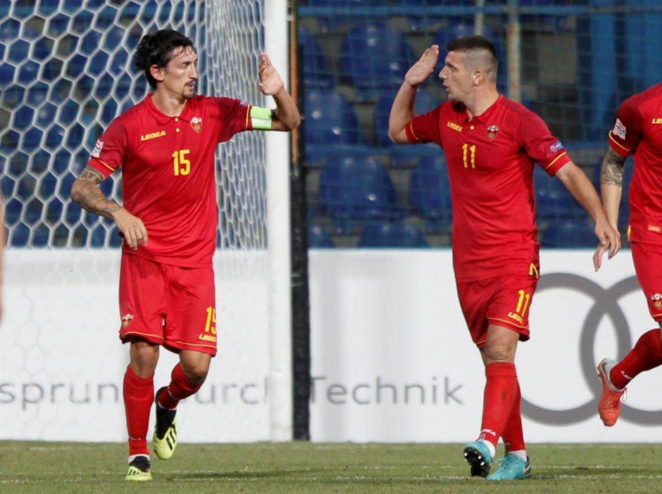 Lietuvos futbolininkai Tautų lygoje patyrė antrąją nesėkmę