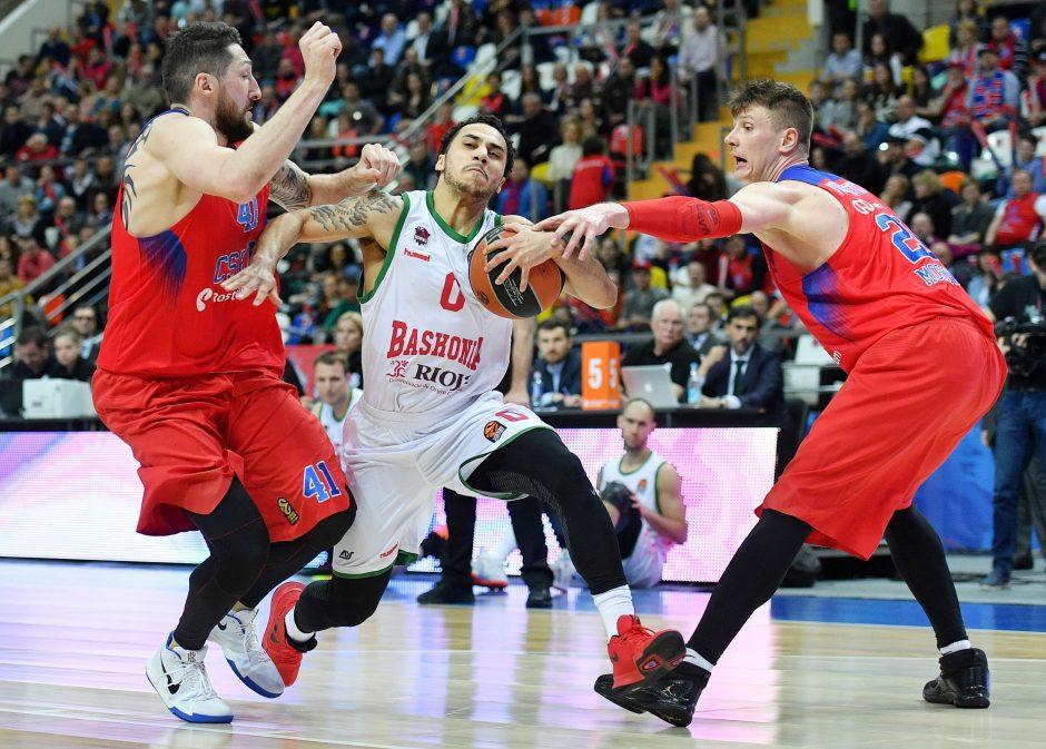 Paskutinių minučių dramą laimėjęs CSKA klubas – viena koja Eurolygos pusfinalyje