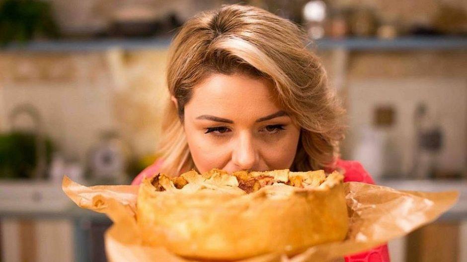 Amerikietiškas obuolių pyragas, kurį B. Nicholson iškepė ne iš pirmo karto