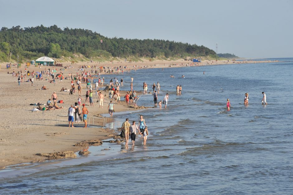 Dalyje Palangos paplūdimio, Visagino ežere ir kitur vandens kokybė neatitiko normų