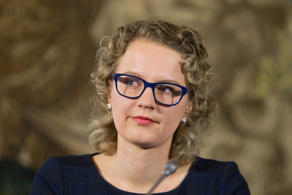 A. Armonaitė atsisako kandidatuoti Liberalų sąjūdžio lyderio rinkimuose