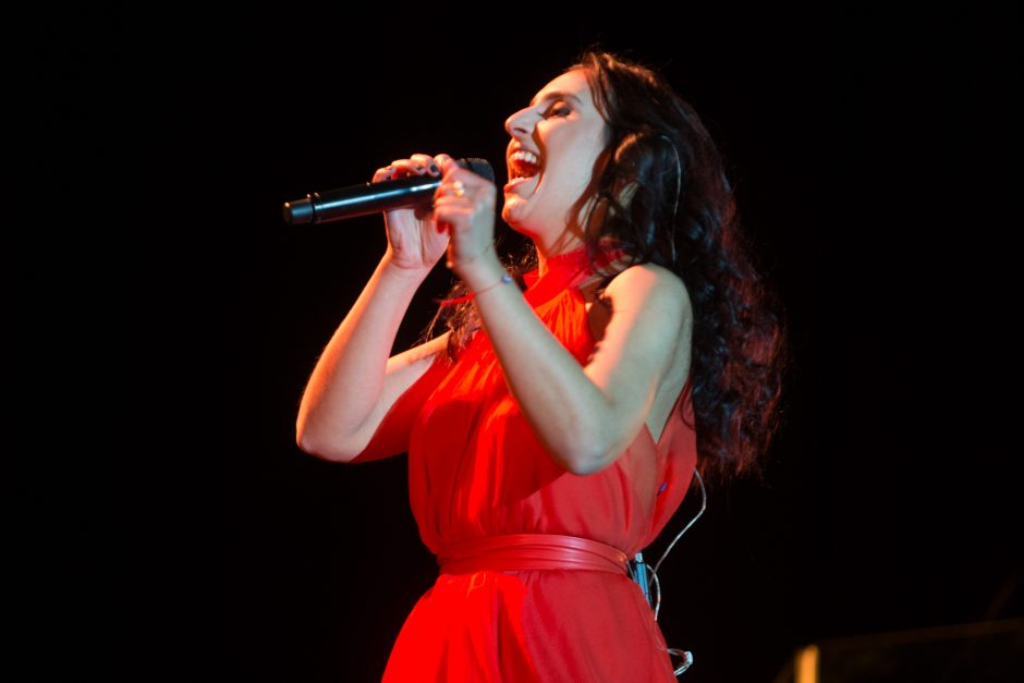 """""""Eurovizijos"""" nugalėtojos Jamalos koncertas"""