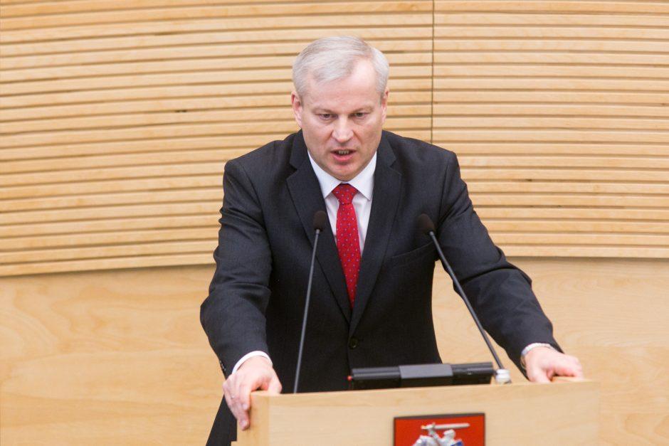 Tarp registruotų kandidatų į laisvą vietą Seime – ir M. Bastys