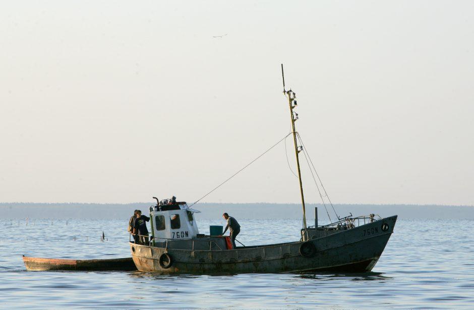 Kodėl sunerimę pamario žvejai?