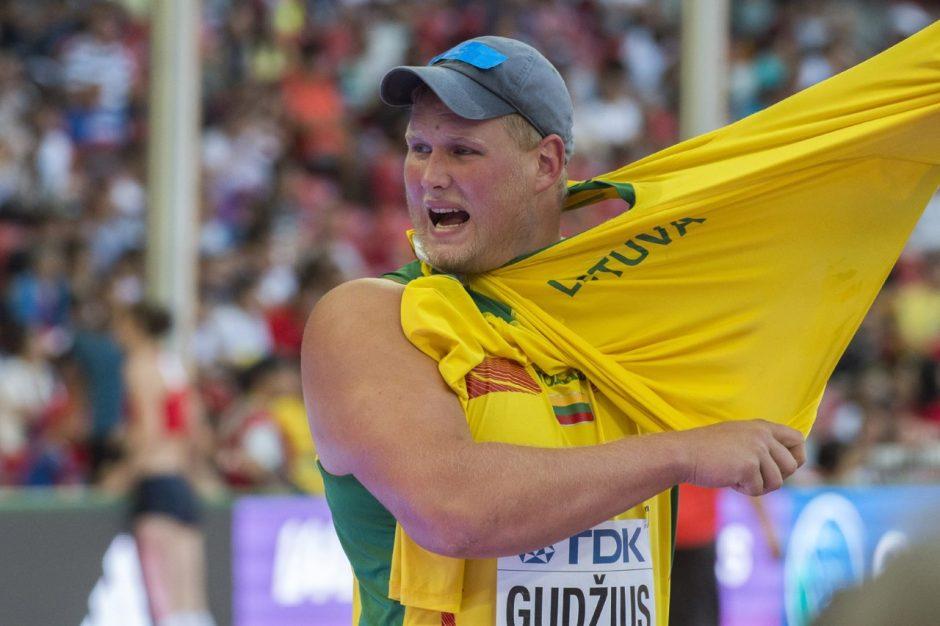 Sugrįžimas: A. Gudžius Kaune pasiekė asmeninį rekordą
