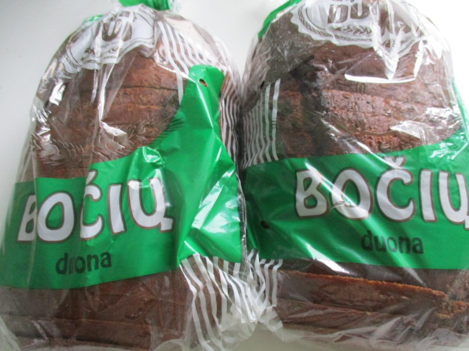 """Kalėdinė """"dovana"""" pirkėjams – pabrangusi duona"""