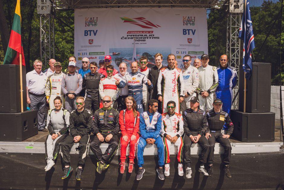 UIM komisaras: Kaunas turi ir toliau rengti F2 lenktynes