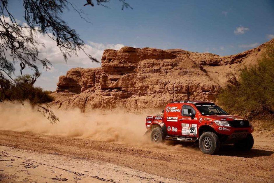 Lenktynininkas A. Juknevičius 11-ajame Dakaro ralio etape užėmė 17-ąją vietą