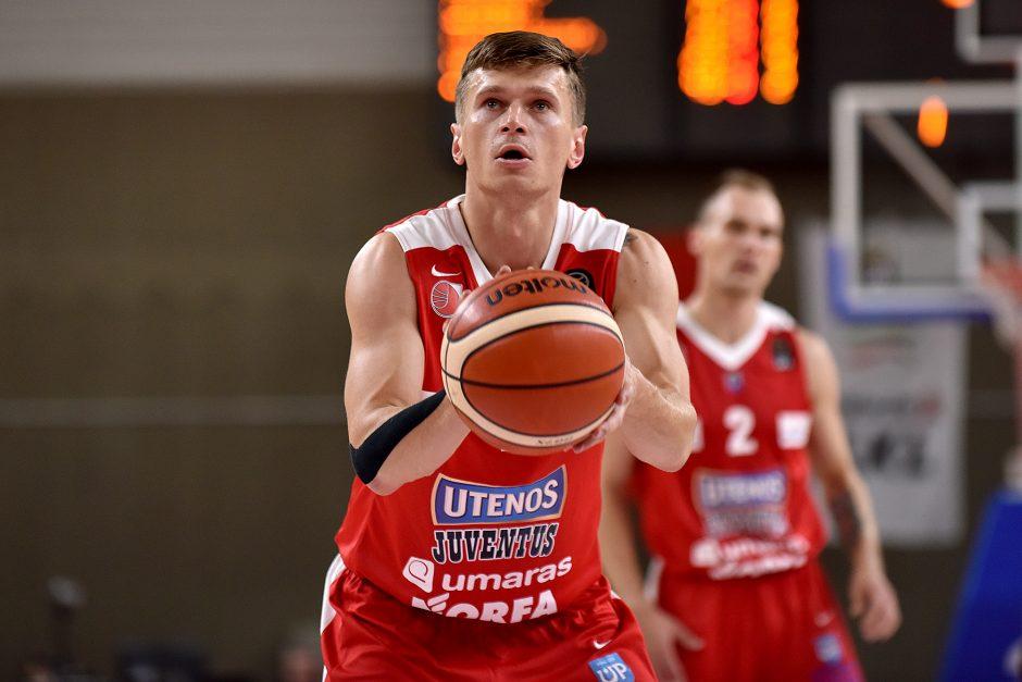 """FIBA Čempionų lyga: """"Monaco"""" sutrypė Utenos krepšininkus"""