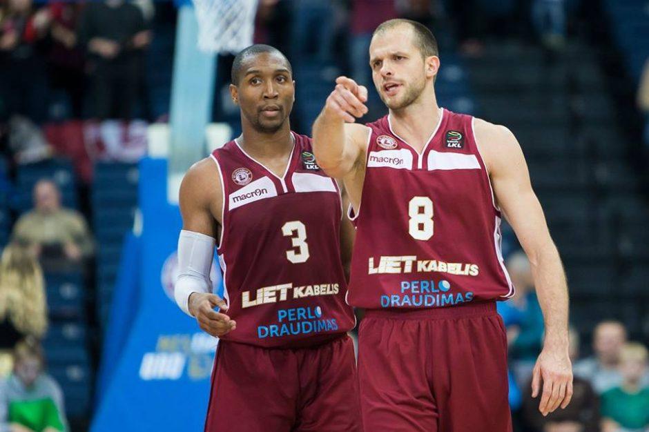 """LKL čempionate """"Lietkabelis"""" iškovojo aštuntą pergalę iš eilės"""