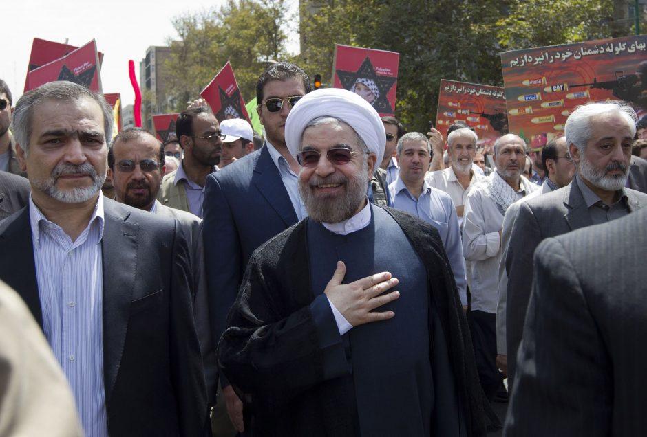 H. Rowhani tapo naujuoju Irano prezidentu