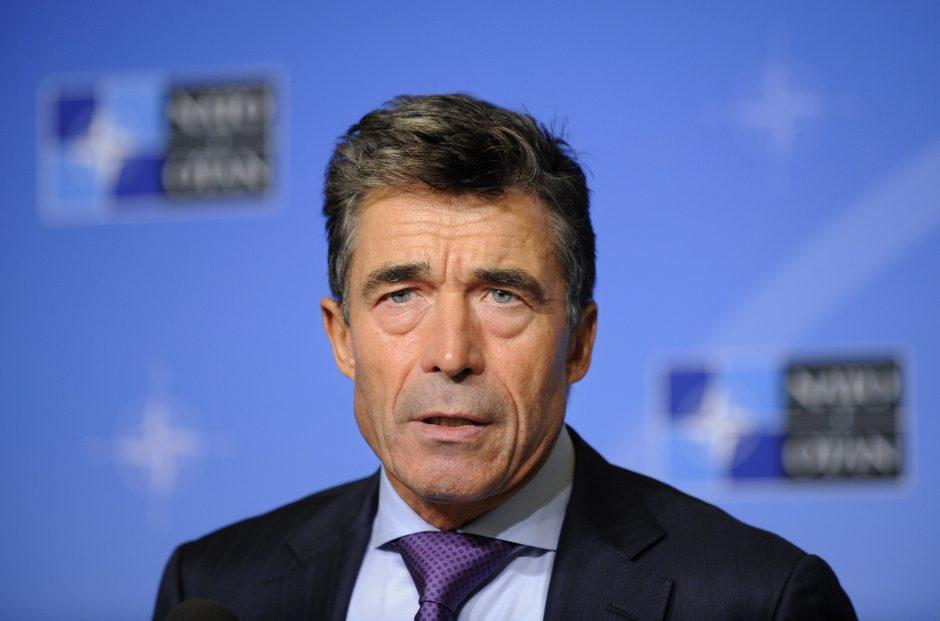 NATO vadovas: Sirijos režimas turi sulaukti griežto atsako