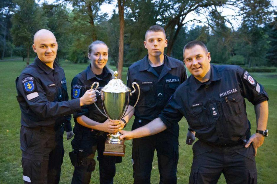 Geriausiais šalies policijos pareigūnais tapo kauniečiai
