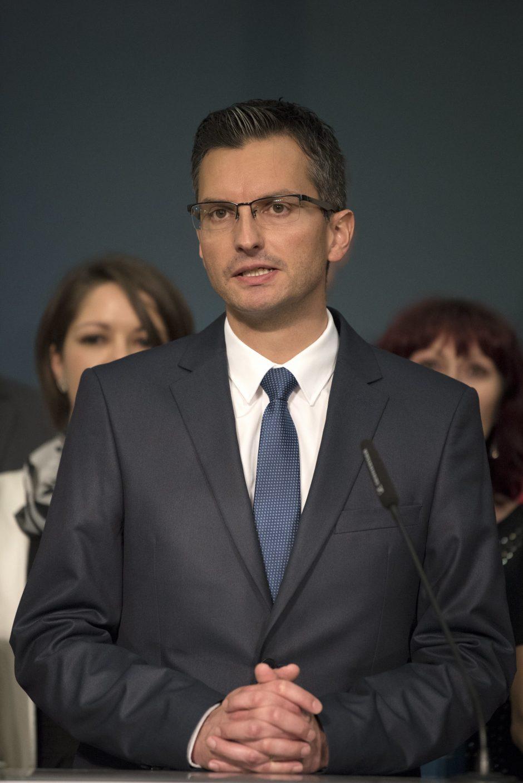 Buvusiam komikui M. Šarecui neliko kliūčių tapti Slovėnijos premjeru
