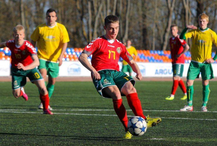 G. Sirgėdas - geriausias Europos U-19 futbolo čempionato snaiperis