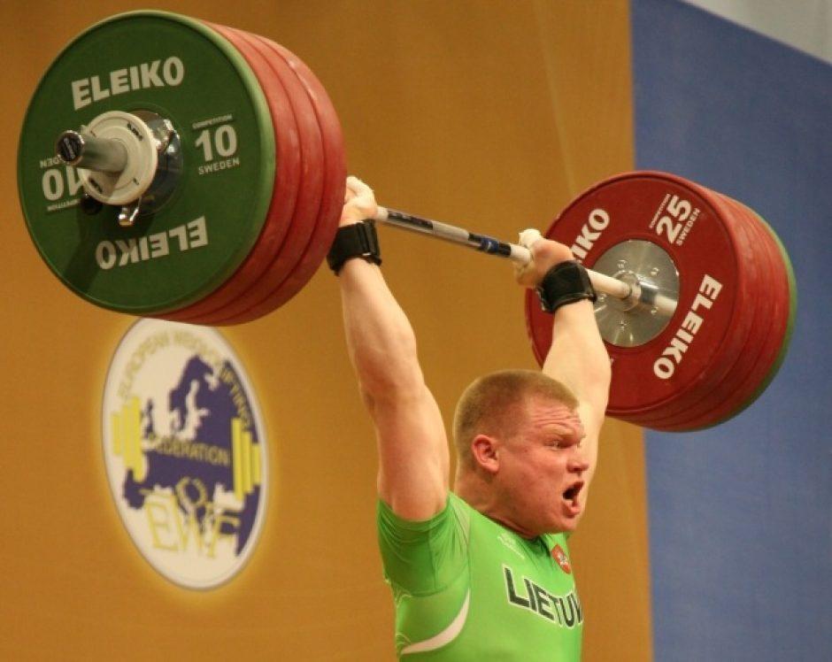 Sunkiaatletis Ž. Stanulis iškovojo Europos čempionato sidabrą