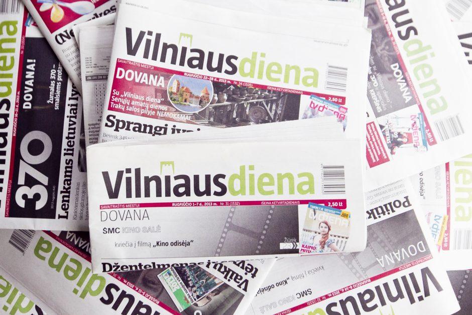 """Rytoj """"Vilniaus dienoje"""" - karščiausios Vilniaus bei Lietuvos naujienos"""