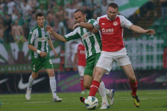 """""""Žalgiris"""" išvykoje įveikė airius ir pateko į antrą UEFA Europos lygos atrankos etapą"""