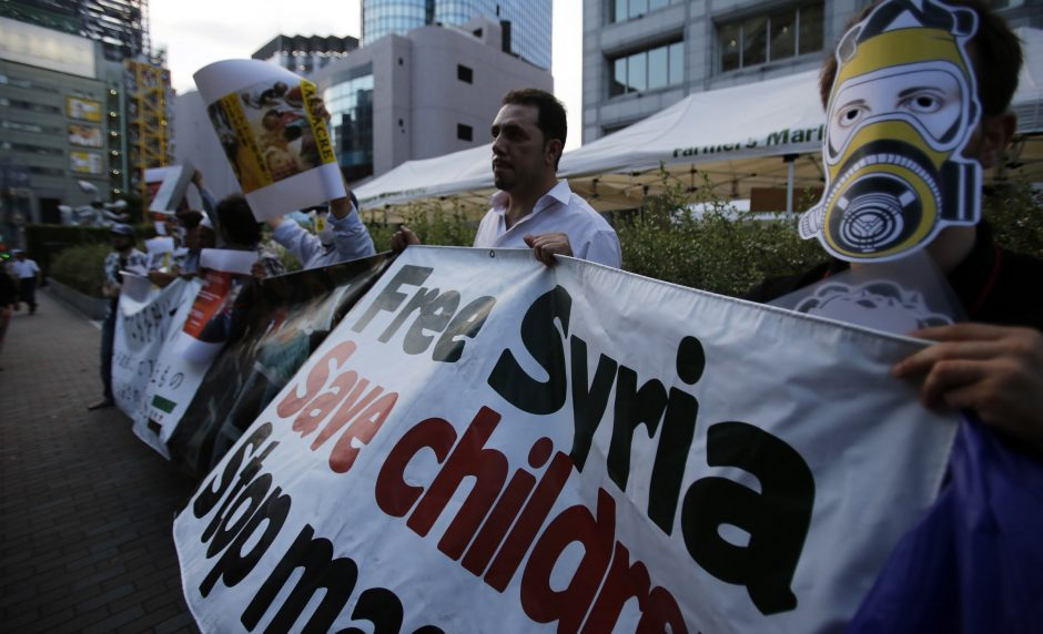 Sirija kreipėsi į Jungtines Tautas: užkirskite kelią agresijai!