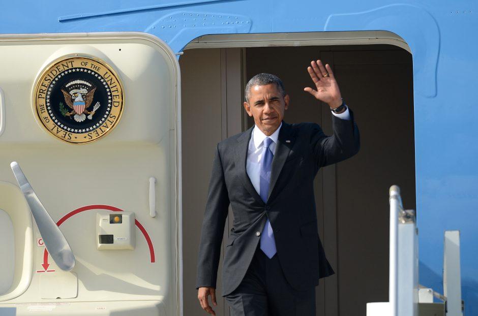 B. Obama atvyko į G-20 viršūnių susitikimą Rusijoje